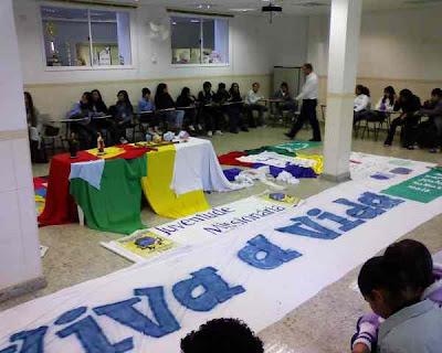 Encontro Diocesano da JM de Guarulhos/SP - 13/06/2010