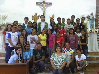 Encontro da JM na Linha do Equador