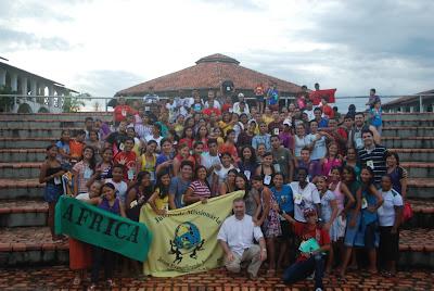 Jovens brasileiros abrindo-se ao horizonte da Missão Além-Fronteiras