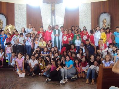 Encontro Missionário Arquidiocesano da IAM e JM na Paraíba