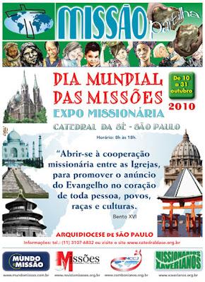 Expo Missionária foi realizada em São Paulo/SP