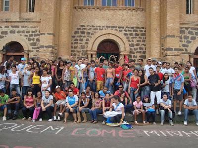 Encontro Diocesano da Juventude e Adolescência Missionária em Porto Nacional/TO