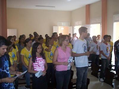Missa em prol da beatificação de Paulina Jaricot no Ceará – 09/01/2011