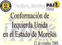 CONSTRUYENDO LA IZQUIERDA UNIDA EN MORELOS