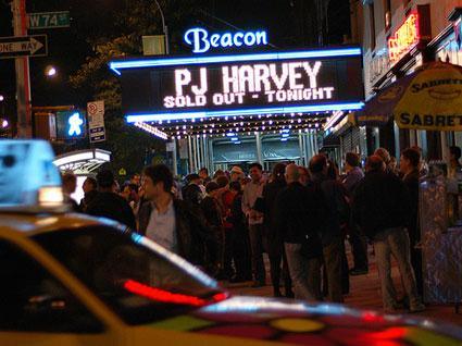 PJ Harvey - NYC 10-10-07