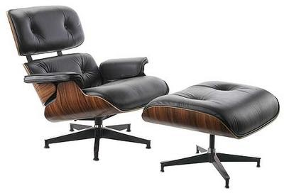 Classic design iconic chairs Iconic chair and ottoman
