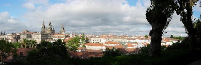 Panorámica de Santiago de Compostela