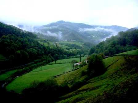 Los Pirineos, el inicio del Camino