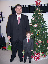 My big man and little man
