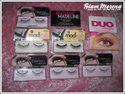 Madame Madeline offers discount ardell lashes, false eyelashes, false eyelashes.
