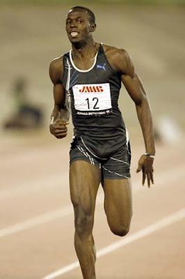El negro que corre
