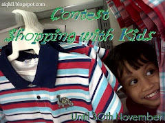 SHOPPING WITH KIDS CONTEST""