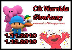 Cik Warnida GiveAway