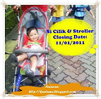 Contest Si Cilik &amp; Stroller