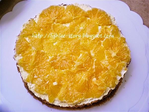 Orange Sponge Cake Recipe Easy