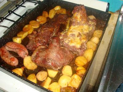 asado en el horno