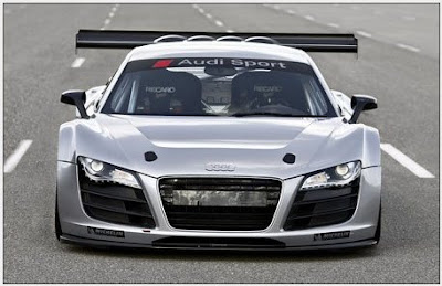 On autoshow in Essen Audi will show racing Audi R8 GT3