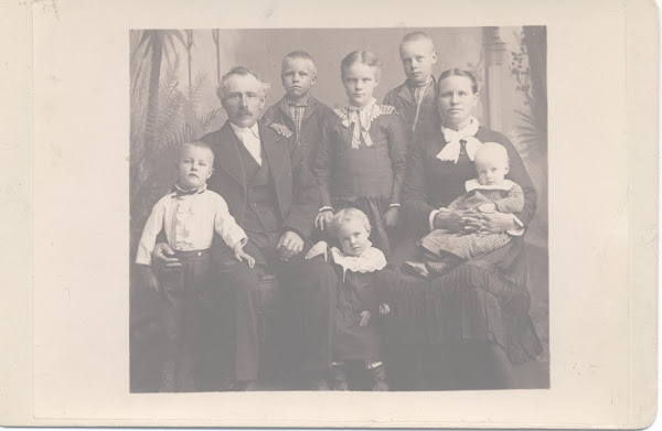 Niels Peter Nielson & Mary Davidson & Family