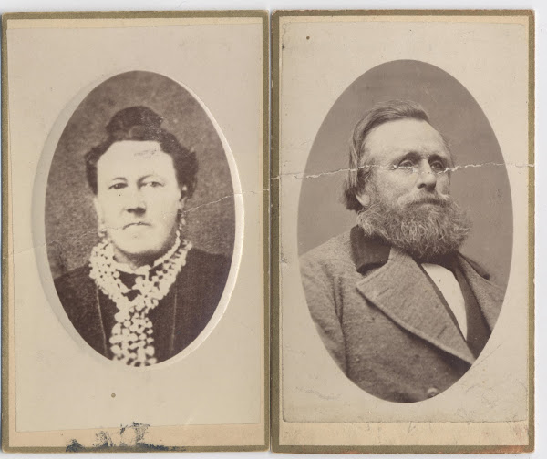 H C Davidson and Wife Annie Maria Jensen