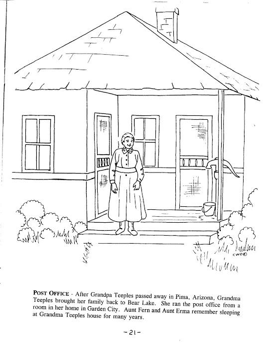 Grandma Teeples Postmistress