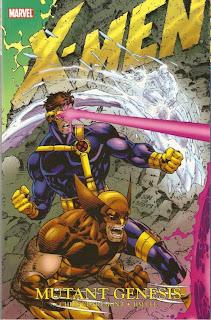 Review X-Men Mutant Genesis Chris Claremont Jim Lee John Byrne Scott Lobdell Cyclops Wolverine Marvel Cover trade paperback tpb comic book