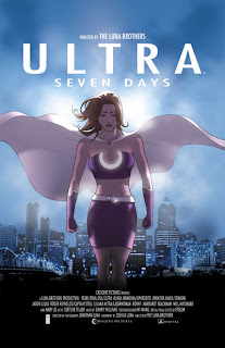 Review Ultra Seven Days Joshua Luna Jonathan Luna Brothers Image Cover trade paperback tpb comic book miniseries