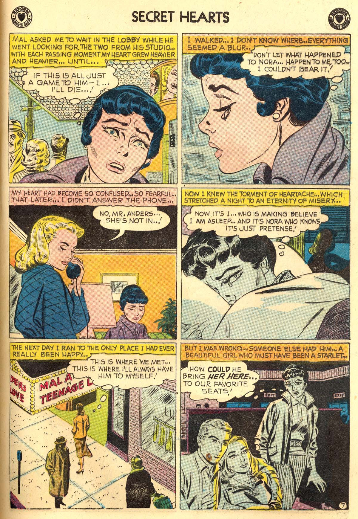 Read online Secret Hearts comic -  Issue #56 - 33