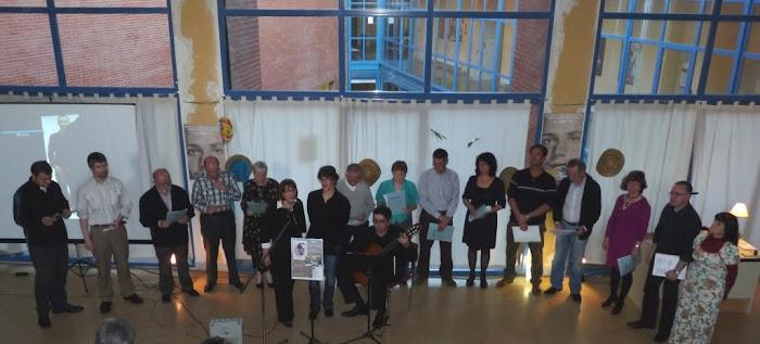Guinda coral del Recital - Homenaje a Miguel Hernández de la Tertulia PoeKas