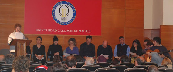 Recital  final de las Jornadas dedicadas a Miguel Hernández