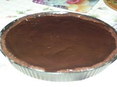 Chocolate fudge tart (Gormand Lizard receptje alapján)
