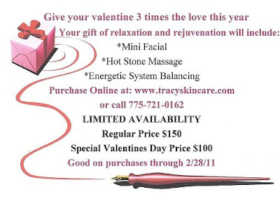 Valentine's Day gift special promotion.