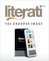 The Sharper Image Literati e-Reader