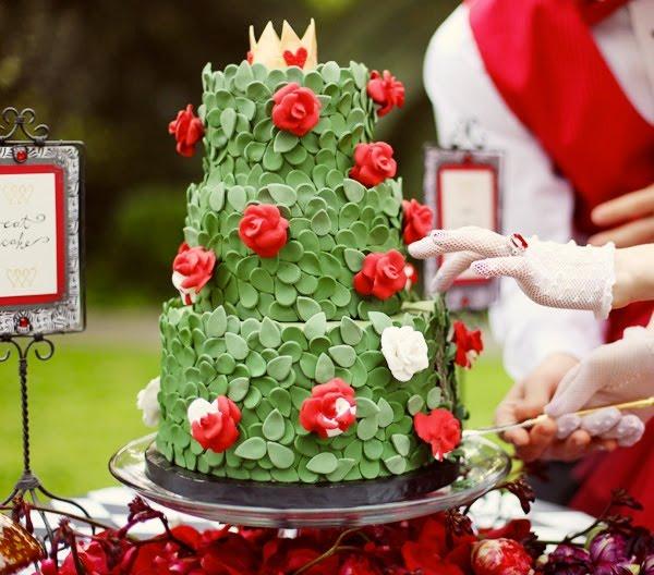 Vanessa Robert Weddings Alice In Wonderland Theme Wedding