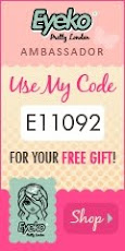 Use my Eyeko Code for a free gift!