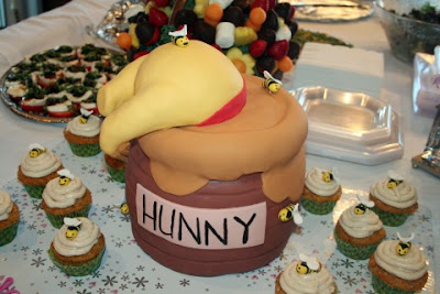 Jana S Fun Cakes Blogspot The Hunny Pot Cake