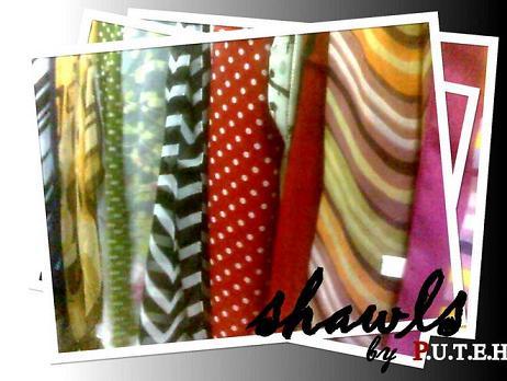 shawls by puteh