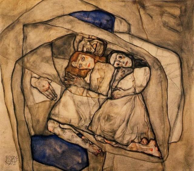 Egon Schiele - Page 2 Egon_Schiele_-_Conversion