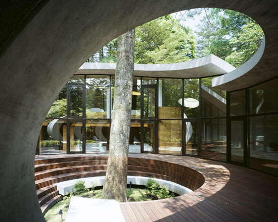Nature architecture the japanese story kotaro ide for Karuizawa architecture