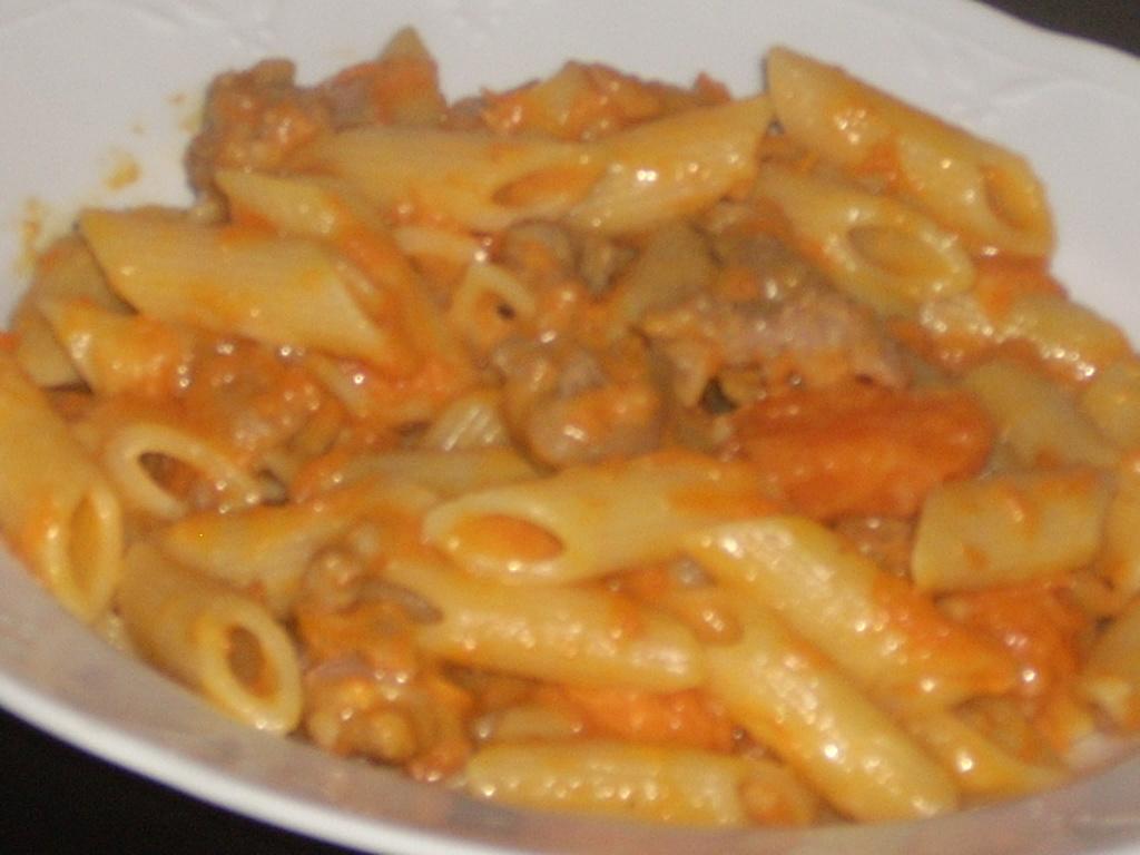Ricetta per pasta con zucca rossa