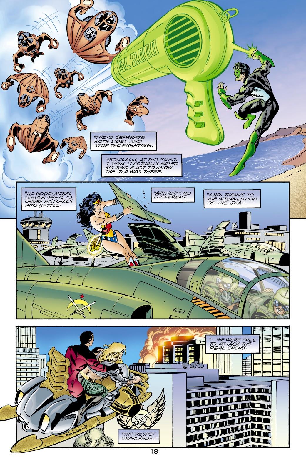Aquaman (1994) Issue #66 #72 - English 18