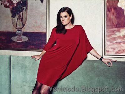faikSonmez l3 yenimoda.blogspot.com Faik Sönmez Büyük Beden Elbise Modelleri