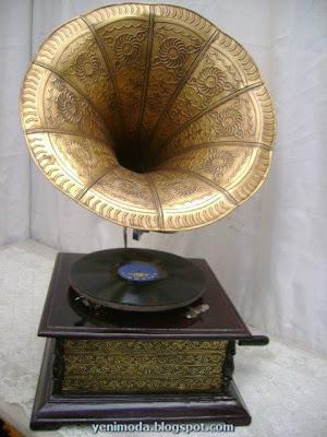 GRAMOFON5 yenimoda.blogspot.com Antika Gramofon Modelleri Gramofon  ÇeŞitleri