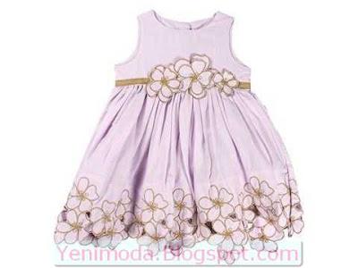 bayramlik elbise 5 yenimoda.blogspot.com Bayramlık Çocuk Elbise Modelleri