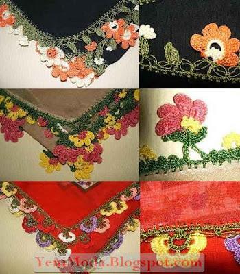 oya modelleri2 yenimoda.blogspot.com Oya Modelleri  Elişi Oya Örnekleri