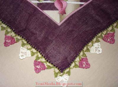 oya modelleri6 yenimoda.blogspot.com Oya Modelleri  Elişi Oya Örnekleri