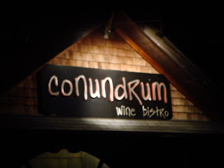 Conundrum sign