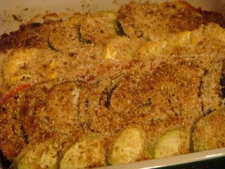 Summer vegetable gratin