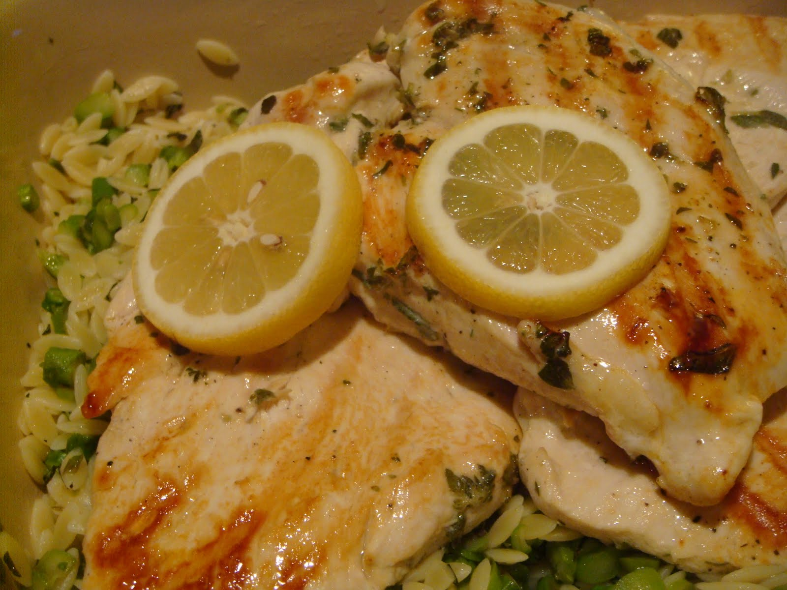 Delicious Dishings: Lemon-Oregano Grilled Chicken With ...