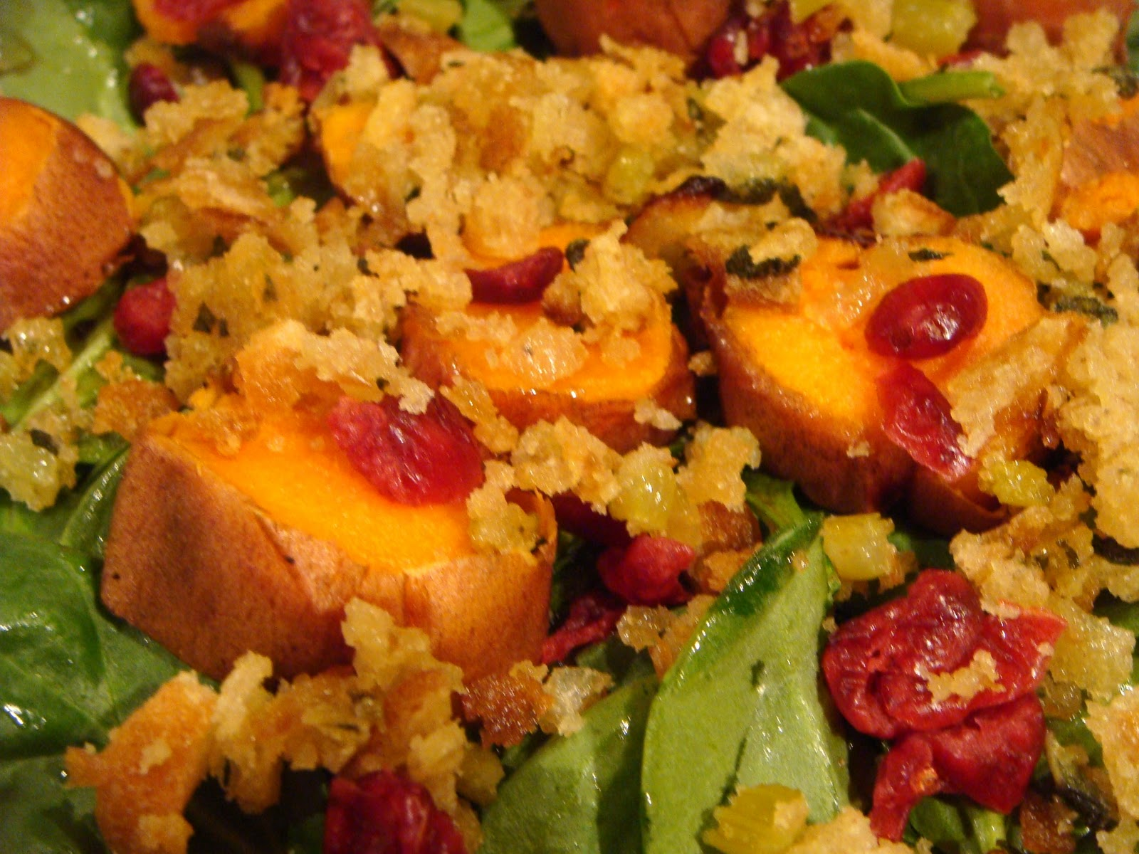 Delicious Dishings Thanksgiving Dinner Salad