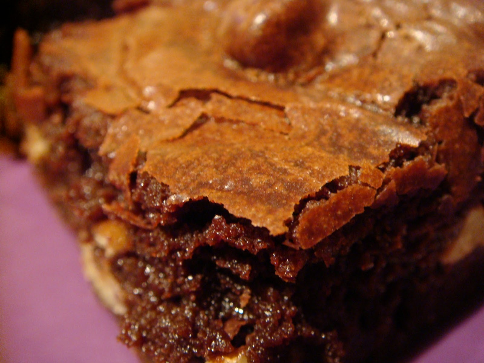 Delicious Dishings: Cocoa Brownies With Brown Butter And Walnuts